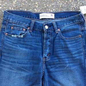 Abercrombie & Fitch Jeans - Abercrombie & Fitch Boyfriend Wide Leg Sz 0